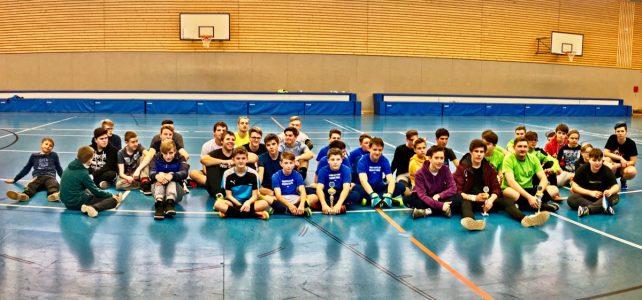 Fußballturnier der Johanniter-Jugendclubs am 9.2.